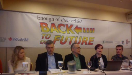 ENOUGH OF THEIR CRISIS-BACK TO OUR FUTURE!